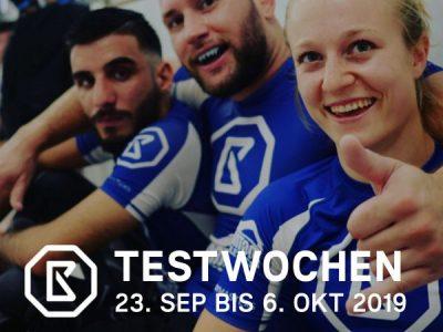 Body Masters Testwochen: 23.09. bis 06.10.2019