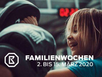 2. Body Masters Familienwochen: 02.03. bis 15.03.2020